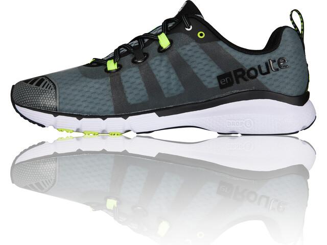 Salming enRoute 2 - Zapatillas running Hombre - gris/negro